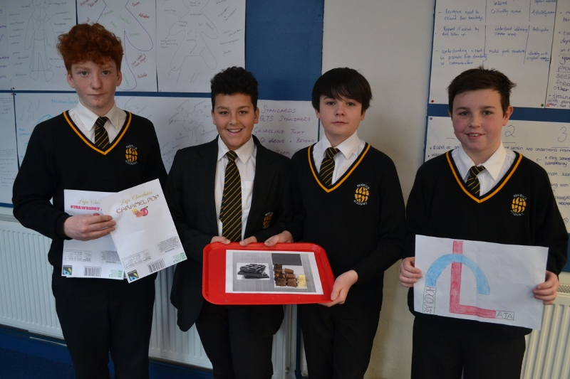 Penrice students take part in Dragons Den