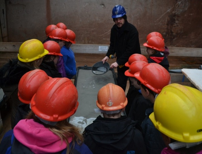 Year 7s from Penrice Visit Geevor Tin Mine