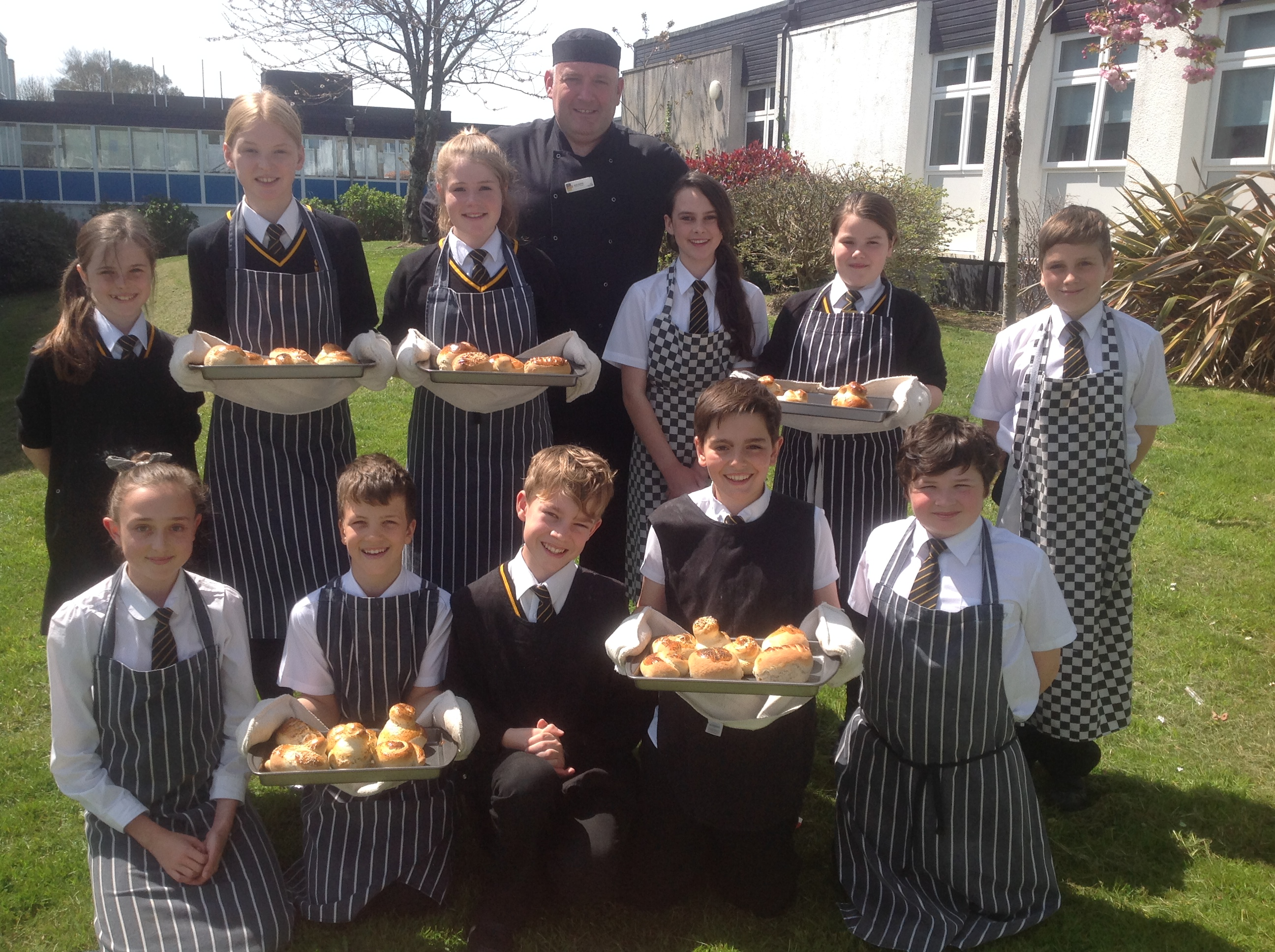 Baking Bread with Chartwells - Penrice Academy