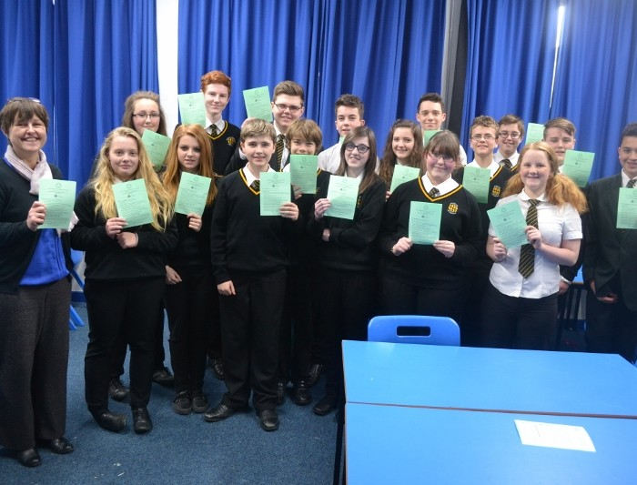 Penrice Students complete the Maths Challenge
