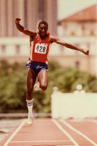 Olympic triple jumper Vernon Samuels