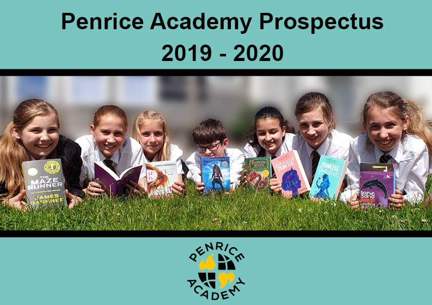 Front cover of the 2019-20 Penrice Prospectus